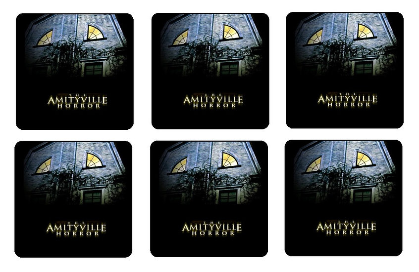 AMITYVILLE HORROR BEVERAGE COASTERS