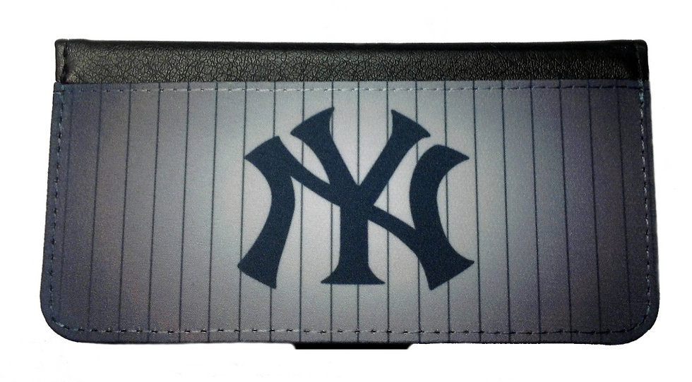 NEW YORK YANKEES IPHONE OR GALAXY CELL PHONE WALLET