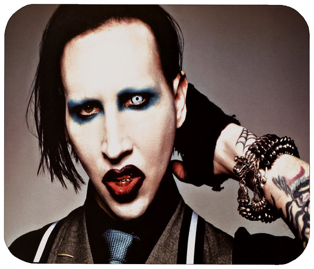 MARILYN MANSON MOUSE PAD - (N)