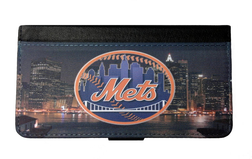 NEW YORK METS IPHONE OR GALAXY CELL PHONE WALLET