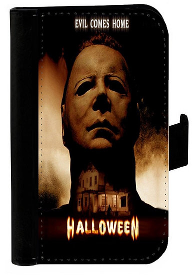 HALLOWEEN (evil comes home) - LEATHER WALLET