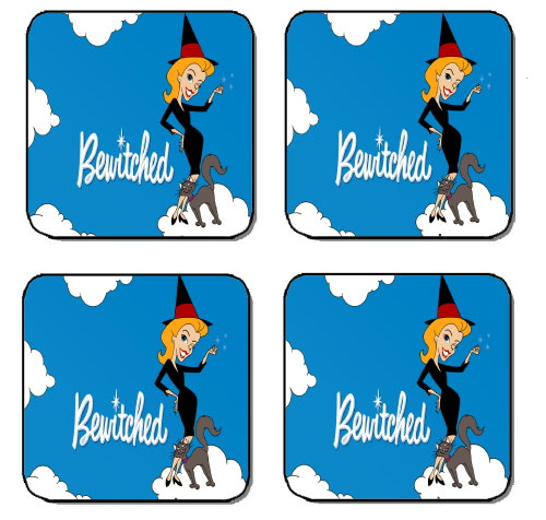 BEWITCHED BEVERAGE COASTERS