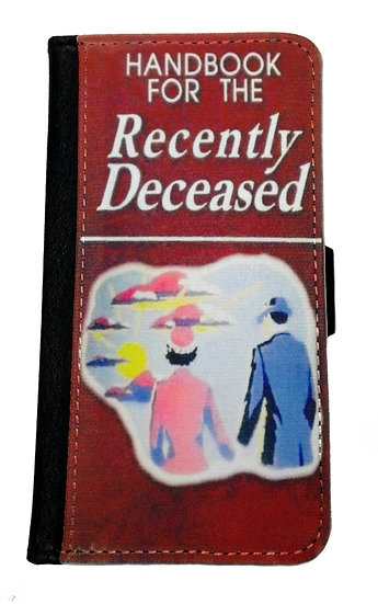 BEETLEJUICE RECENTLY DECEASED IPHONE OR GALAXY CELL PHONE CASE WALLET