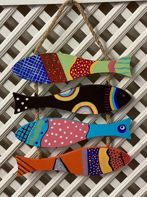 Balık Seti Duvar Süsü
