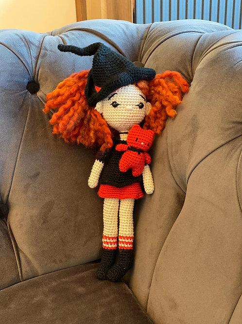 Amigurumi Cadı Kız