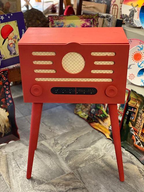 Nostaljik Radyo / Dekoratif Dolap