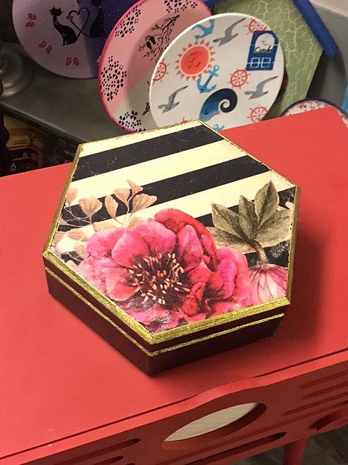 Takı Kutusu Çiçekli