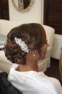 Wedding updos Jamaica