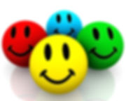 colorful_smileys_on_white_background_sto