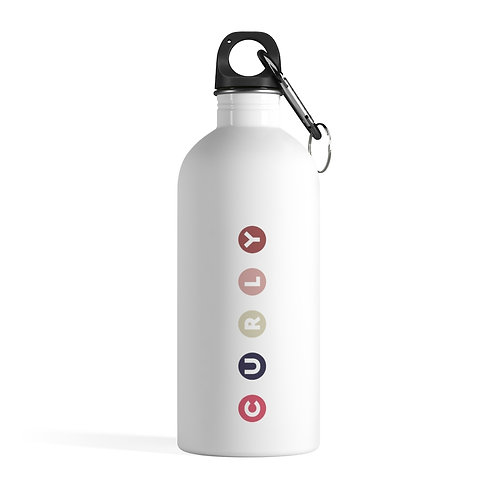 Curly Stainless Steel Water Bottle
