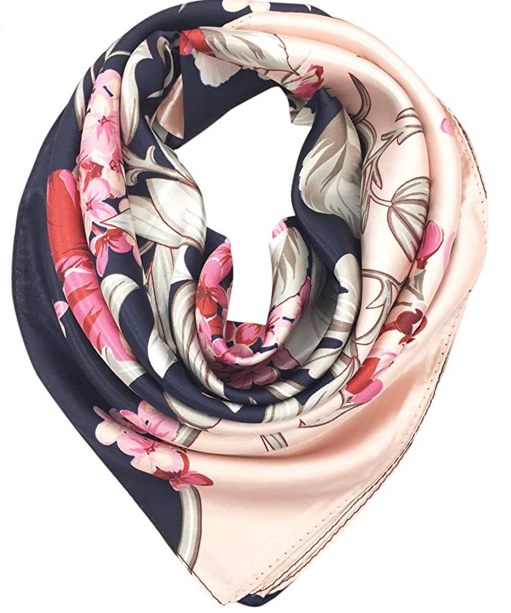 Bufandas decorativas para el cabello