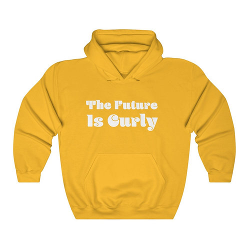 The Future is Curly Unisex Heavy Blend™ Hooded Sweatshirt