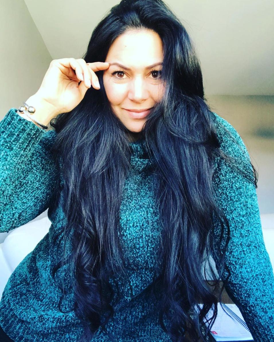 Textura de cabello tipo 1