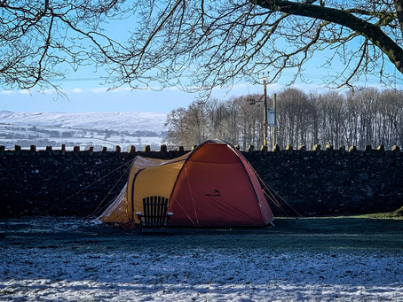 Winter Camping in The Yorkshire Dales