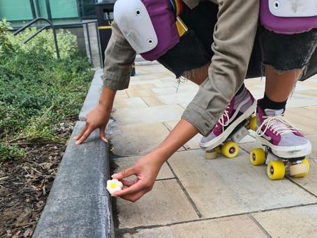Meet my skates - Cam.
