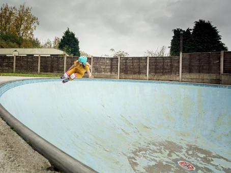 Be Good Skate Team at YoYo's bowl.