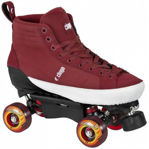 Chaya Karma Park Skates Burgundy