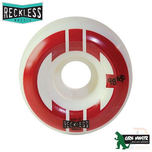 CIB Reckless Street Wheels - 55mm -  4 Wheels