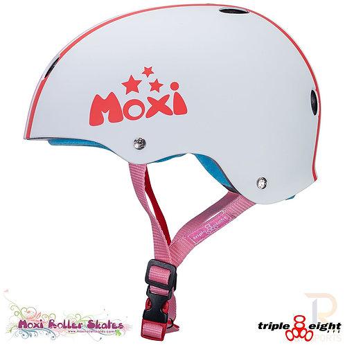 Triple 8 cert SweatSaver Moxi Stripe Helmet