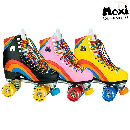 Moxi Rainbow Rider Skates.