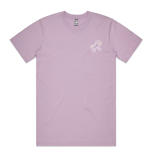 Rollerfit Daisy Skate embroidered T-Shirt