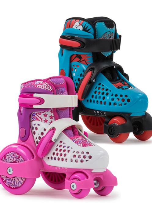 SFR Stomper Adjustable Quad Kids Skates.