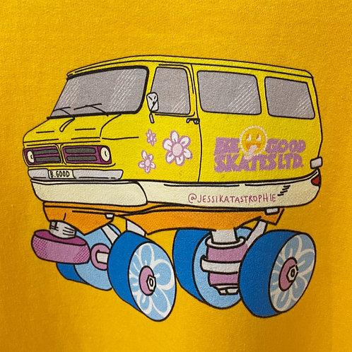 Be Good X Jessika Savage Custom Van Sweatshirt