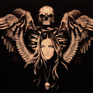 Total Skull  Sheri Moon Zombie- Daniel M