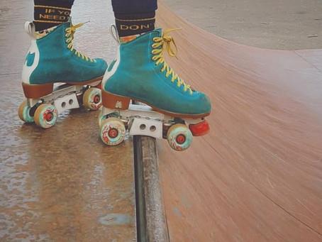 Mel - Meet my skates!