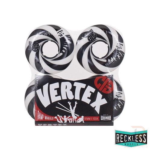CIB Reckless Vertex Wheels - 61mm - Pack of 4 wheels.