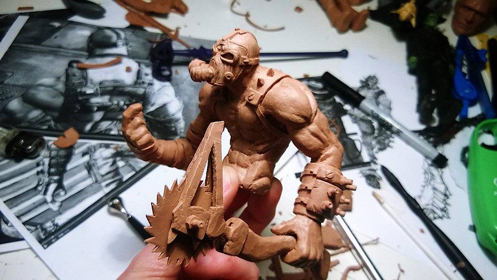 Krieg Sculpture progress.jpg