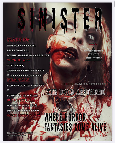 Sinister Magazine Issue #5