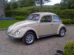 VW Beetle Wedding Car Hire