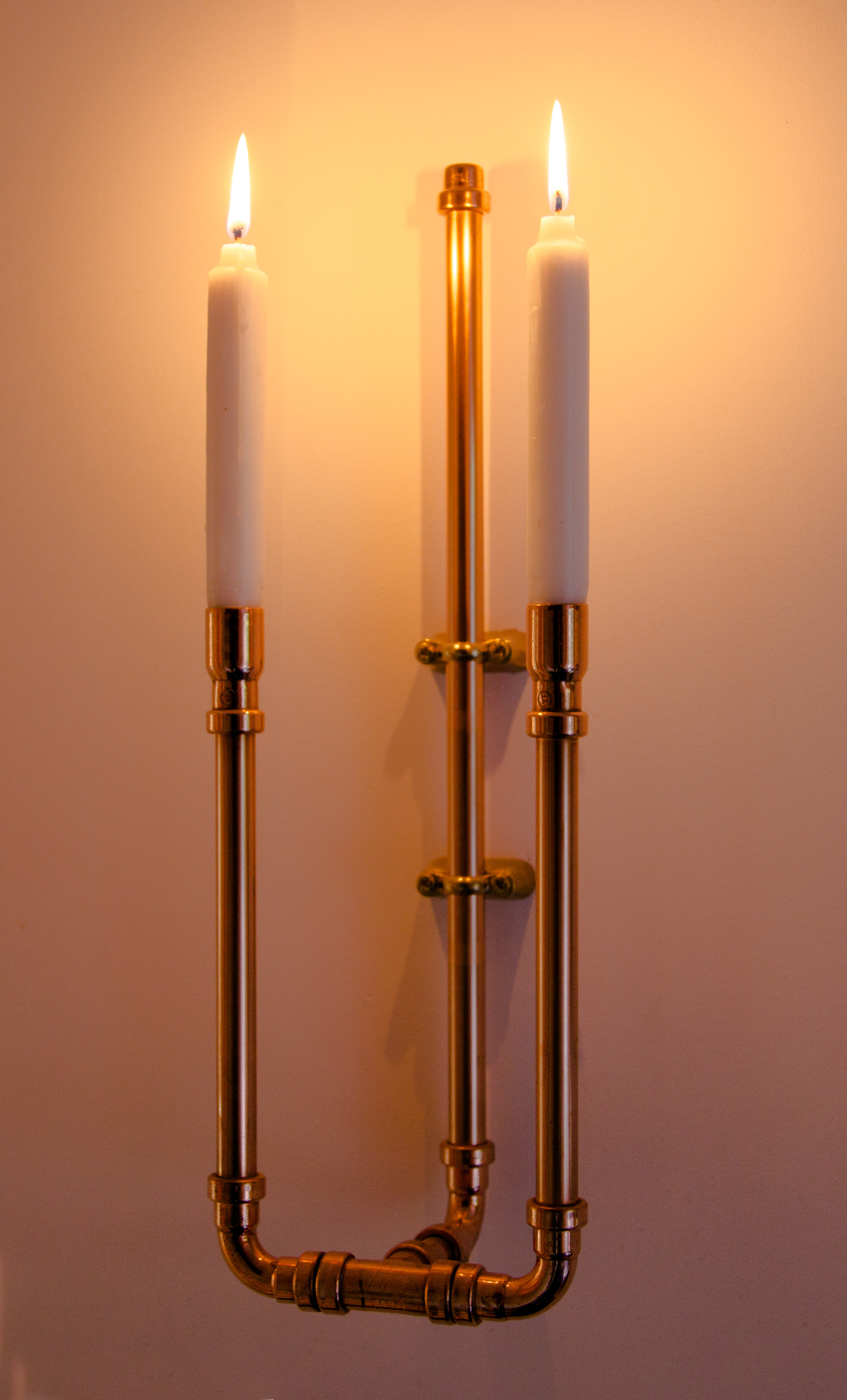 Copper Candelabra