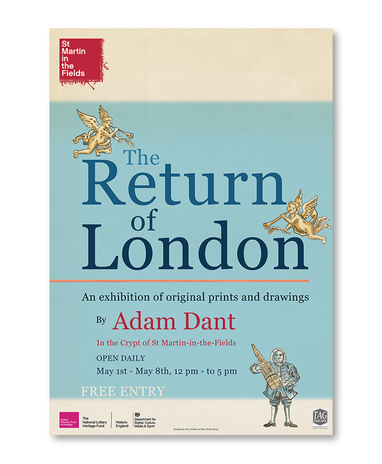 St Martin in the Fields Poster