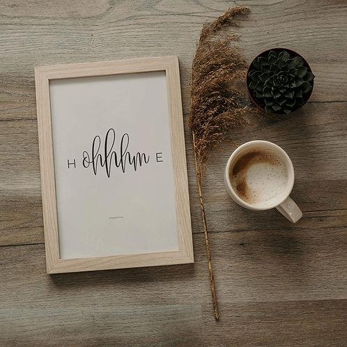 2 Prints | H-OHHM-E