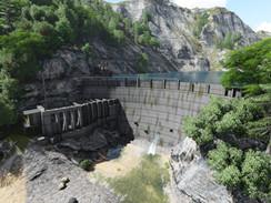 Waipouri Dams - Scan to BIM