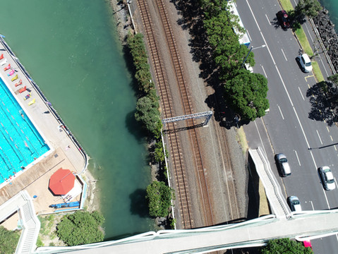 UAV Capture - Auckland Railway Network