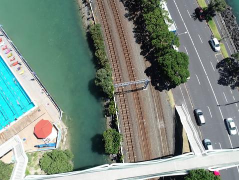 UAV Capture - Auckland Railway Network