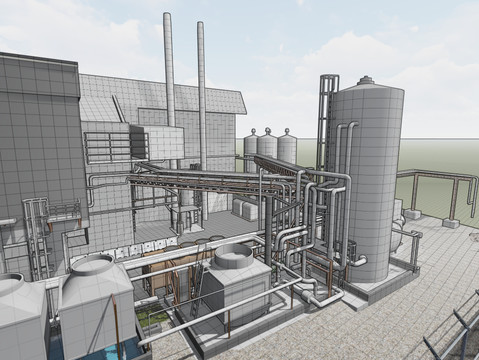 Mechanical Plants - Scan to BIM