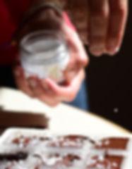 Chocolate Maker Sprinkling Sea Salt