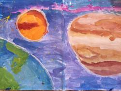 Наша планета. Корепанов Георгий 5 лет. II премия