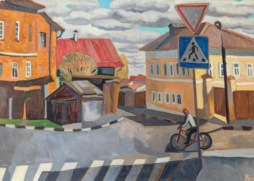 Мила Гаврилова. Улица в Коломне