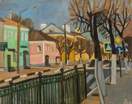 Мила Гаврилова. Улица Октябрьской революции