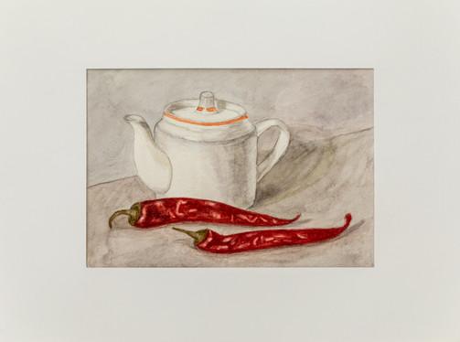 Мария Трубникова. Чайник с острым перцем