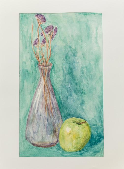 Ксения Арсентьева. Ваза с сухоцветами