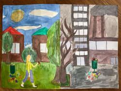 Экологические проблемы будущего. Ермиди Ева, 10 лет. I премия
