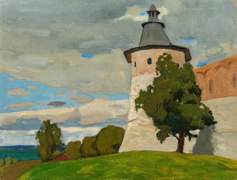 Мила Гаврилова. Башня в Зарайске