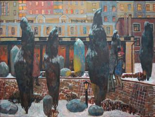 Творческая встреча с художником Милой Гавриловой