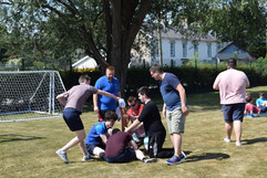 Outdoor games at Newport